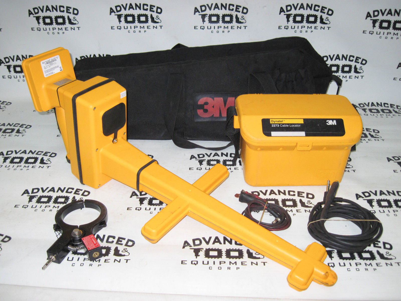 Underground 3m Dynatel 2273 Locator : M dynatel pipe fault receiver wand cable