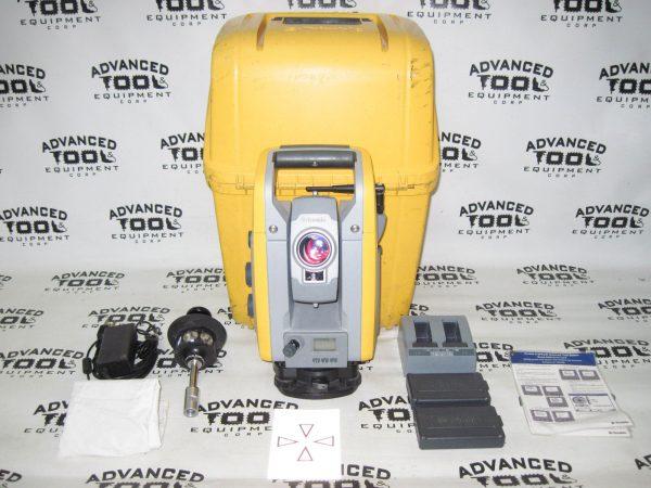"""Trimble S6 DR 300 + Plus 5"""" Robotic Total Station w/ Prism, Charger, Case 2.4Ghz"""