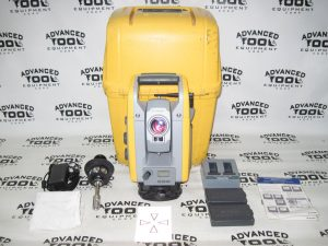 "Trimble S6 DR 300 + Plus 5"" Robotic Total Station w/ Prism, Charger, Case 2.4Ghz"