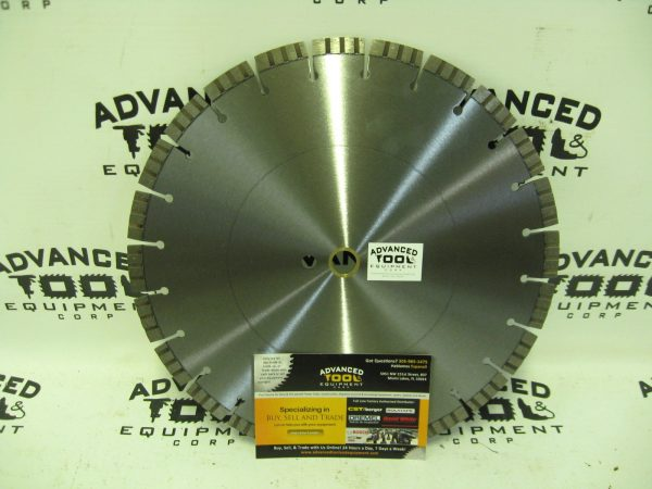 "14"" AT&E Laser Welded Premium Turbo 15mm Seg Diamond Blade .125"" 1""-mm"