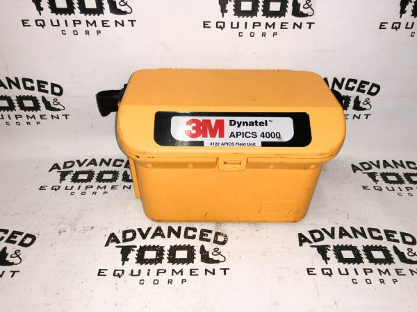 3M Dynatel APICS 4000 Cable Pipe Fault Locator with Carrying Case & Cables