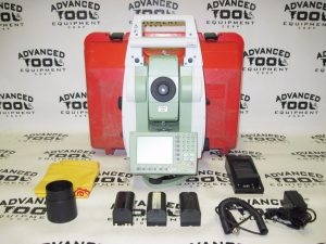 LEICA TCRP15 R100 Prismless Dual Display Robotic Total Station Radio Handle