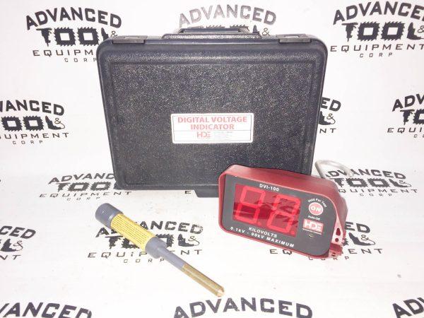 HDE Electrical Digital Voltage Indicator DVI-100 & IEP-DVI5 Underground Probe