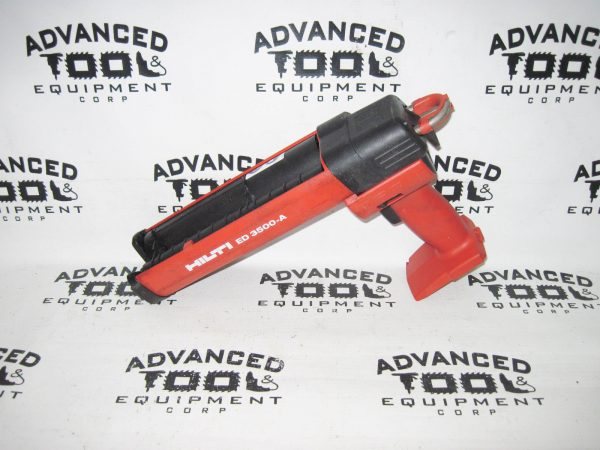 Hilti ED-3500-A Cordless Dispenser Epoxy Glue Paste Adhesive Gun