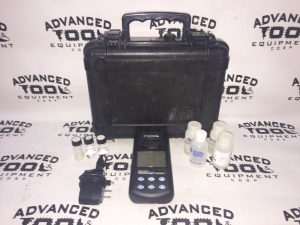 LaMotte Portable Turbidity Meter Model we & Case