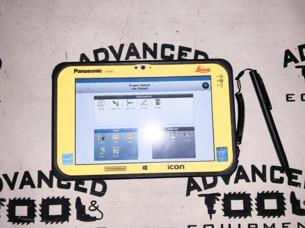 "Leica iCON CC80 Rugged Windows 7"" Tablet with ICON Software and Charger"