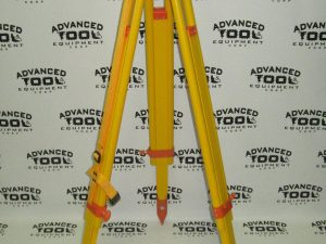 New! AT&E 3' - 5' Adjustable Height Wood Tripod with Leveling Tribrach Base