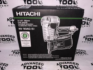 NEW Hitachi NV90AGS 1-3/4-Inch to 3-1/2-Inch Coil Framing Nailer