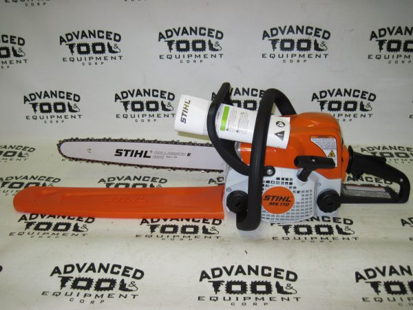 "NEW Stihl MS170 Gas Commercial Grade Chain Saw Chainsaw 16"" Rollomatic Bar"