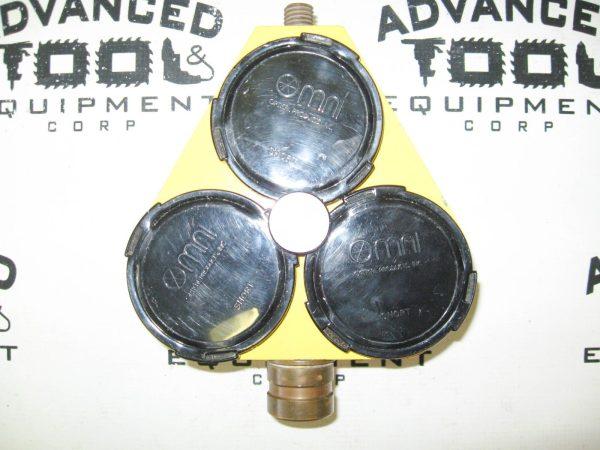 Omni Triple Prism Reflector Holder Target w/ Topcon Tribrach Optical Plummet