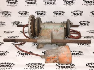 Ridgid 300 Pipe Threader Power Head & Foot Petal Pipe Threading