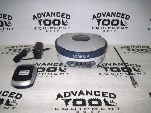 Sokkia GRX2 GNSS GPS Antenna  Receiver UHF Cellular Bluetooth 226 Ch Base Rover