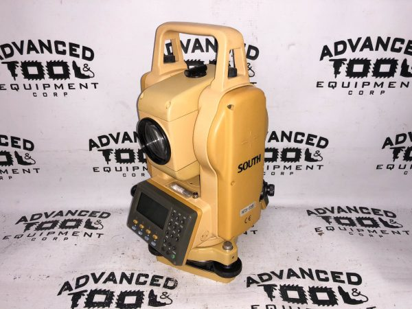 South NTS-355 Total Station Dual Display Transit w/ Charger, Battery and Case