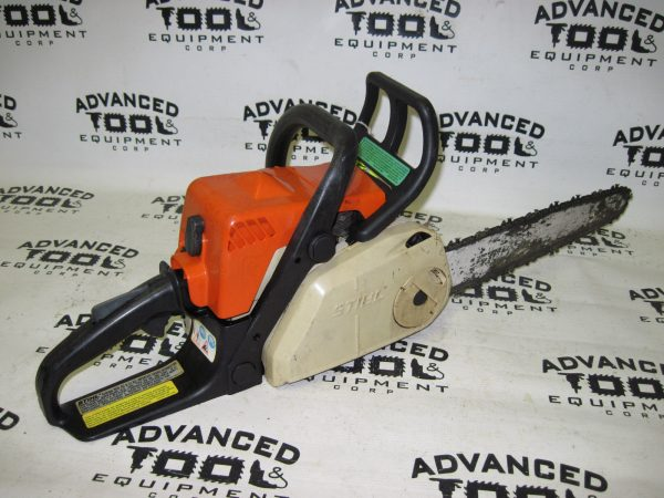 """Stihl MS180c Gas Powered Commercial Grade Chain Saw Chainsaw 14"""" Rollomatic Bar"""