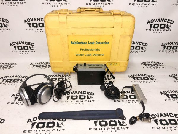 Subsurface Leak Detector LD-10 Professional Pipe Drain Water Detection LD-12