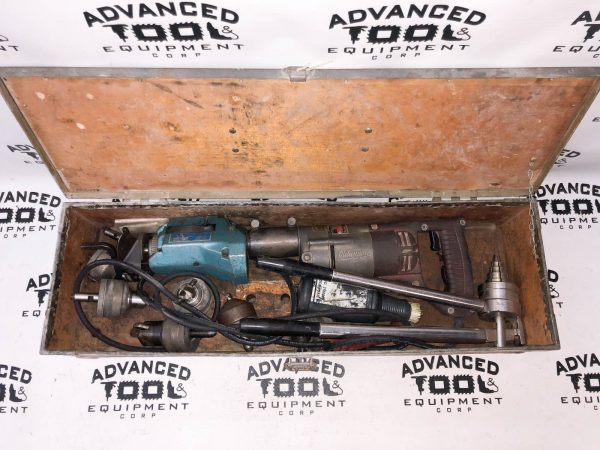 T-Drill T-50 Corded Copper Pipe Notcher Cutting Forming Machine Set w/ Case