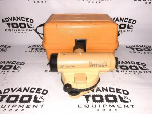 Topcon AT-G6 Autolevel Automatic Auto Level Transit w/ Carrying Case