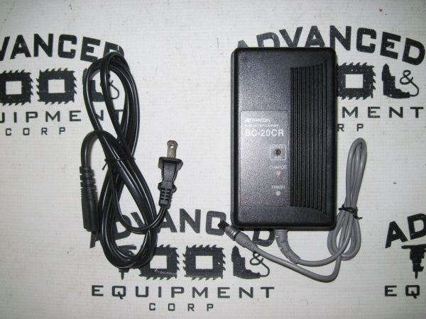 Topcon BC-CR Replacement Battery Charger GTS-300 700 & GPT1001 GPT1002