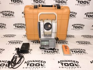 Topcon Cygnus KS-102 Dual Display Total Station w/ Charger, Battery & Case