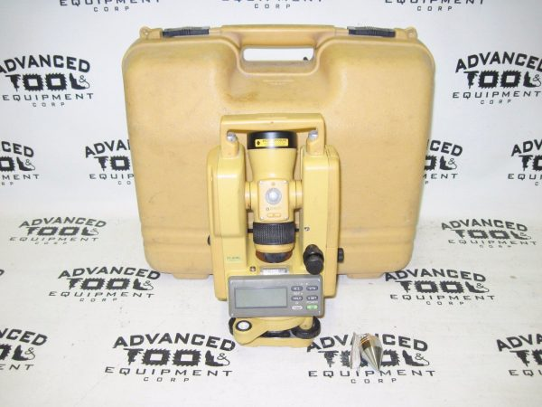 Topcon DT-9L Optical Digital Theodolite w/ Laser and Carrying Case DT-0