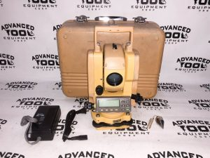 Topcon GTS-211D Total Station Transit w/ Case New Charger & Battery