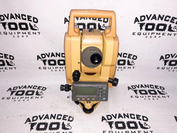 Topcon GTS-233W Total Station Transit w/ Case New Charger, Battery, Plumb bob