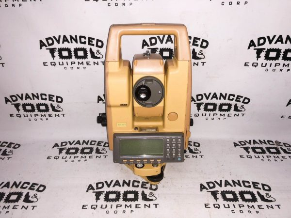 "Topcon GTS-605 5"" Total Station Transit w/ Case New Charger & Battery"