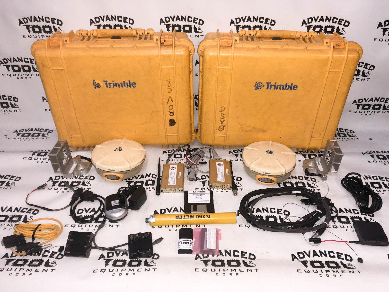 Trimble 5800 GPS Receiver Antenna Base & Rover Set with CDMA, Bluetooth  Radio, RTK