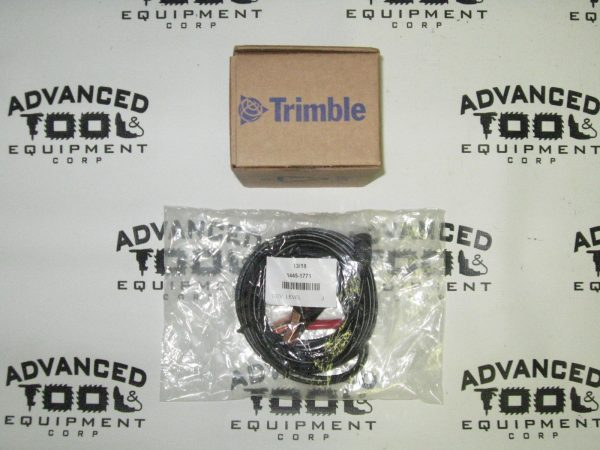 Trimble Spectra Precision P21 12V External DC Power Cord DG511 DG711 1445-1770