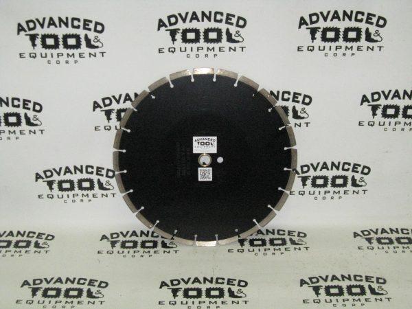 "USA New 14"" AT&E General Purpose Black Cheetah Diamond Blade 14 x .125 x 1""-mm"